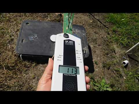 Extremely High Radiation   water meter 2016 SEP20