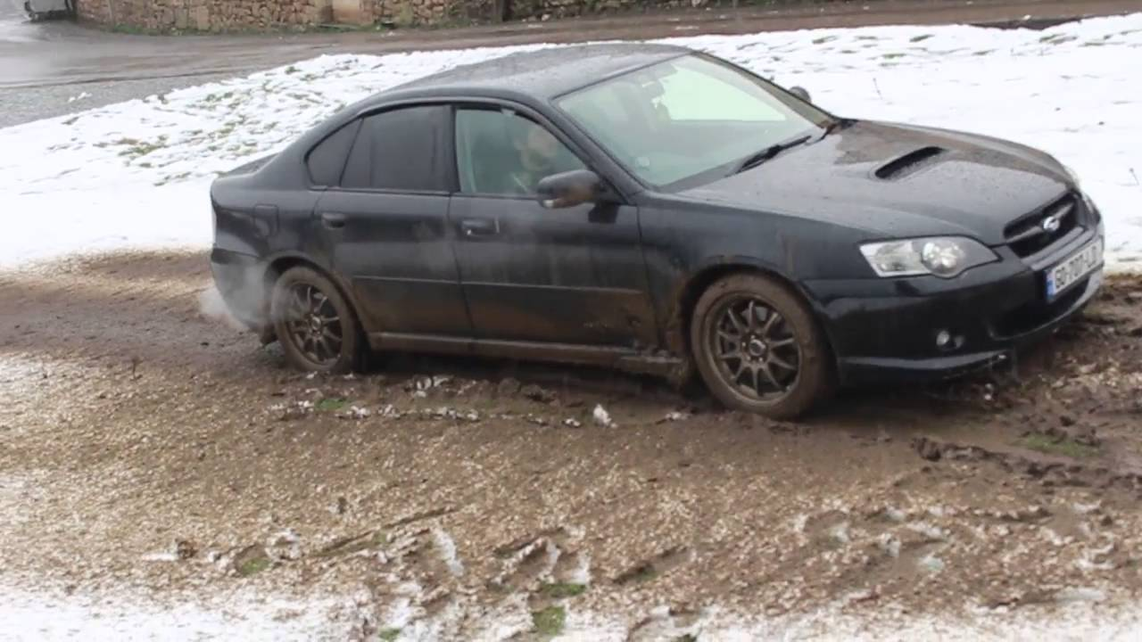Subaru Legacy Off Road Youtube