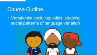 ELL217 Sociolinguistics