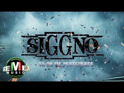Siggno - Ya no me perteneces (Video Oficial)