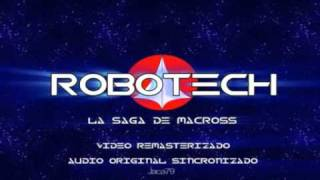 Robotech remasterizado Audio latino Original