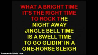 Bobby Helms - Jingle Bell Rock - Karaoke
