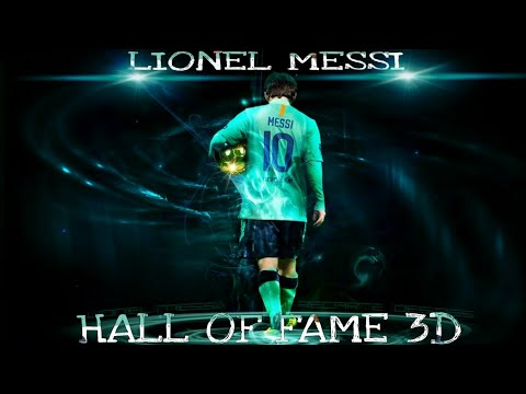 Lionel Messi Hall of fame 8D music video.