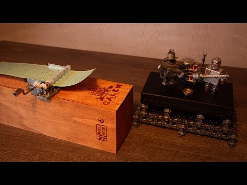 DIY Music Box and Robo-band. Seal. Kiss from a rose
