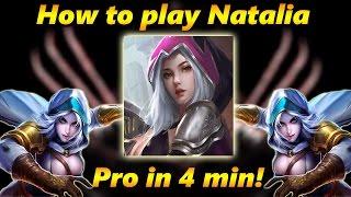 Mobile Legends: How To Play Natalia - Natalia Guide/tutorial