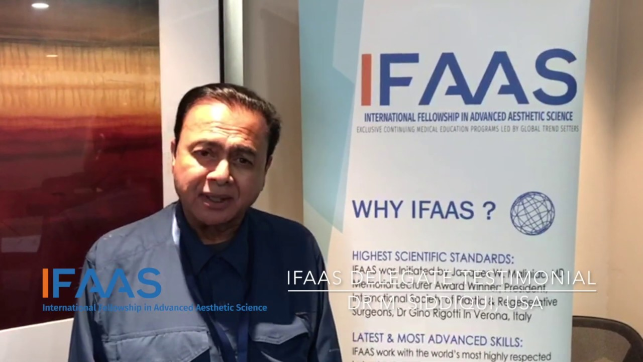 IFAAS Delegate Testimonial - Dr M Siddiqui | United States