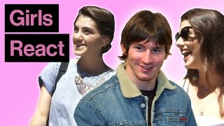 Girls React To Lionel Messi Then And Now
