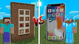IPHONE NOOB TERRA VS. IPHONE PRO DIAMANTE (MINECRAFT)