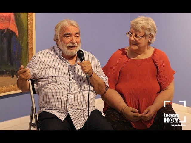 VÍDEO: EL ESPEJO DE LA VIDA. Un paseo por la exposición Rafael Aguilera e Isabel Jurado en la Casa de los Mora