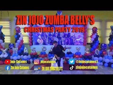Zin Jojo Zumba Belly Group   Christmas Party 2019