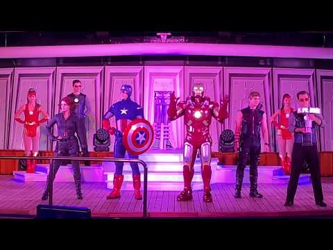 Marvel Heroes Unite - First 2019 Marvel Day at Sea Aboard The Disney Magic Mp3