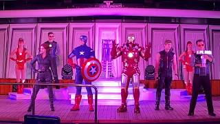 ‪Marvel Heroes Unite - First 2019 Marvel Day at Sea Aboard The Disney Magic‬