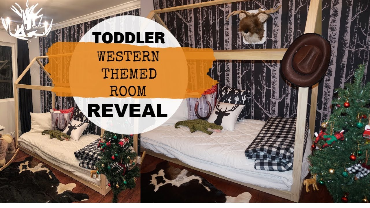 TODDLER BEDROOM REVEAL | Toddler Boy Western Themed Room