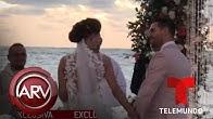 Carmen Villalobos se casa con Sebastián Caicedo y aquí están las imágenes | Al Rojo Vivo | Telemundo