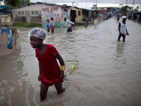 Inondation à cité soleil - Haiti, mai 2017