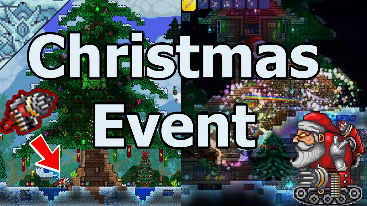 Terraria Christmas.Terraria Everything About The Christmas Event
