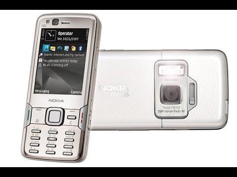 Český unboxing: Nokia N82