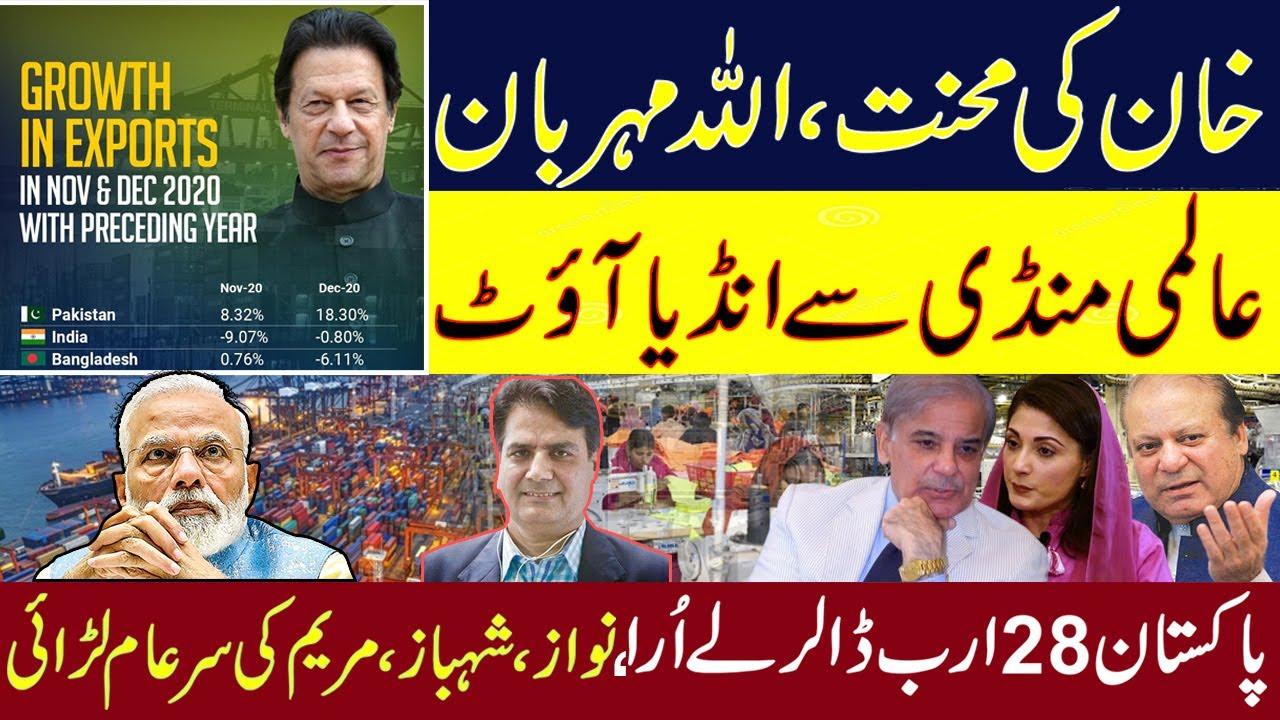 Imran Khan's Hard Work, Allah Meherban | انڈیا Out of the Global Market | Sabir Shakir Analysis