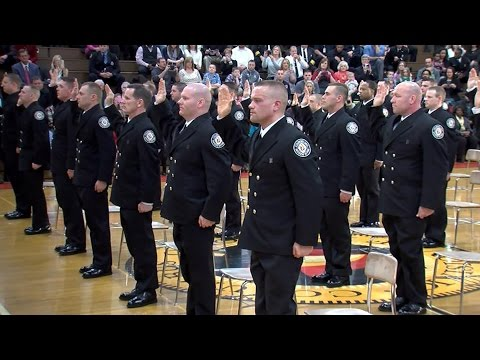 2015 Columbus Division of Fire 101st Class of Firefighters Graduation