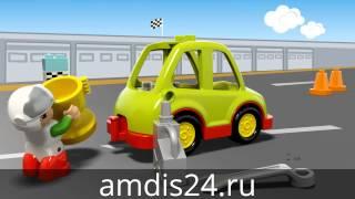 Видео обзоры LEGO Duplo Гоночный автомобиль