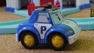 Мультфильм из игрушечных машинок: Робокар Поли: Первая Встреча