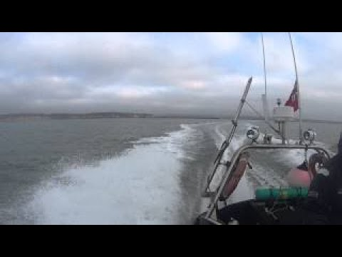 On The RIB Heading For The Lancer II