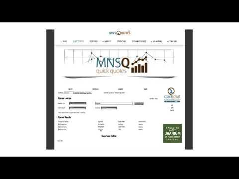 MNSQOUTES   Symbol Lookup Video