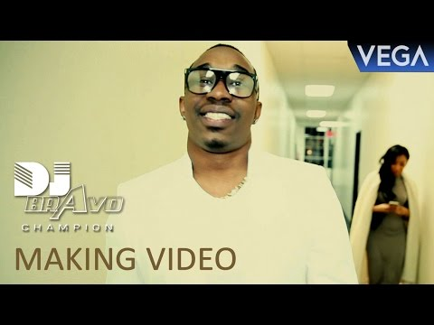Dwayne Bravo's 2016 Latest Song Making Video