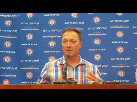 Jeff Banister discusses Joey Gallo's struggles