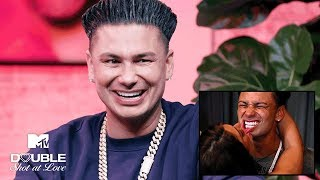 Pauly D's 'Jersey Shore' Hookups 💕 Romantic Reactions | Double Shot at Love