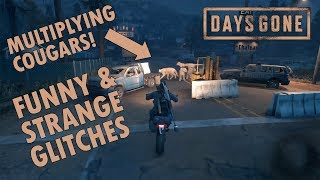 Days Gone [PS4 Exclusive] - Funny and Strange Glitches