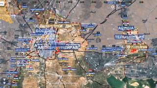 СИРИЯ 2016!!Обзор карты боевых действий в Сирии и Ираке от 19 01 2016г