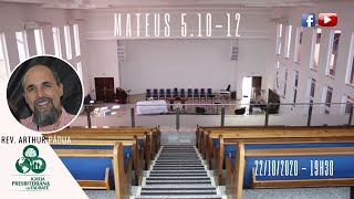 Reflexão: Mateus 5.10-12  - IPT