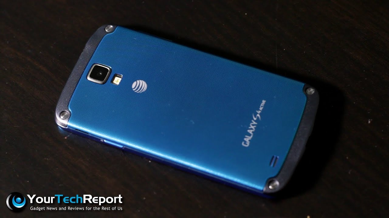 pretty nice fe0b6 f8729 1st Impressions: The Galaxy S4 Active on AT&T - Waterproof!