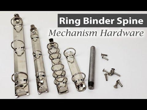 Binder Mechanisms - 2, 6, 3-Ring Binder Parts in Stock