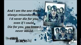 Papa Roach - Even If I Could  ( Lyrics )