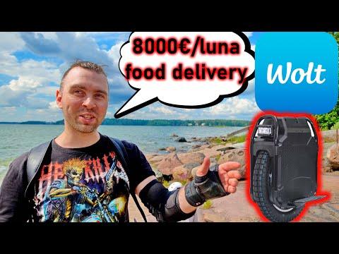 Curier in Finlanda cu 8000€ pe luna!!!