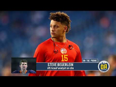 Steve Beuerlein says the Chiefs could turn to Mahomes in the playoffs I D.A. on CBS