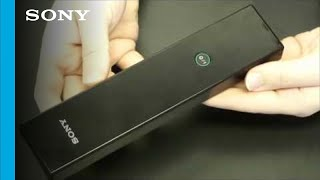 how to change the battery on the 2010 2011 bravia television remote