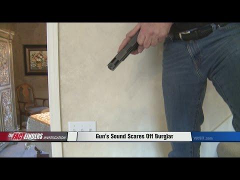 Burglar Scared Off By Unique Sound