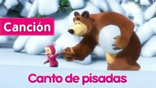 Masha y el Oso - Canto de pisadas (Rastreadora de Animales Desconocidos) Nueva canción infantil! thumbnail