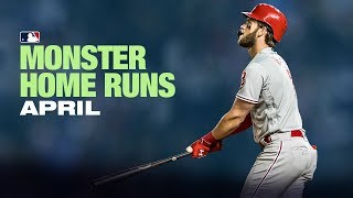 Monster Home Runs - April 2019