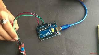 Arduino with Sound Sensor and LED (Tutorial)