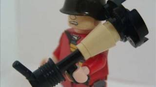 Lego Team Fortress 2 Minifigures! (1,000 Subscribers Special)