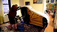 How to move a grand piano?