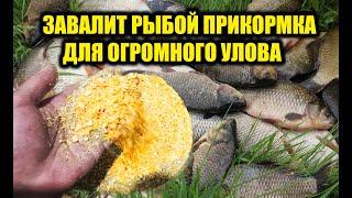 Будете рыбу отпускать эта прикормка завалит рыбой прикормка своими руками для аттрактантов