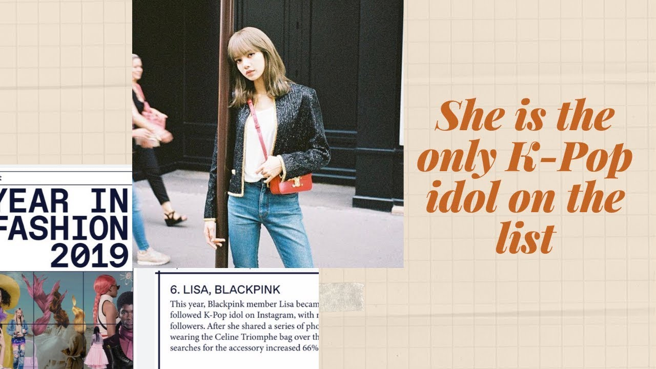 """Download BLACKPINK's Lisa Ranked 6 Out Of 10 Celebrities In """"Year In Fashion, 2019"""" Of Lyst"""