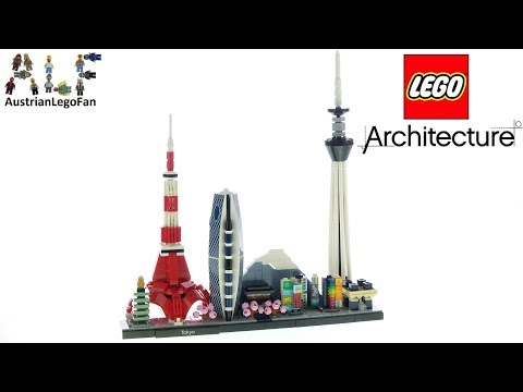 Lego Architecture 21051 Tokyo Skyline - Lego Speed Build Review