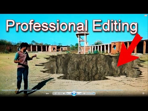 Professional Video Editing software. vfx