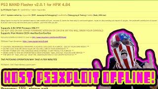 #1.5 Ps3 Host 4.84 / 4.85 Ps3xploit Jailbreak Offline!